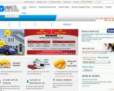SBH Home Loan Interest Rate