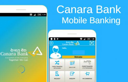 Canara Bank Moblie Netbanking