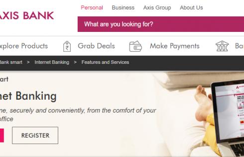 Axis Bank Internet Banking Login ID