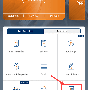 Change ICICI Debit card pin using iMobile app