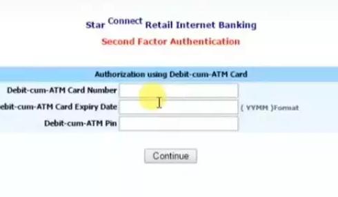 Enter debit card number for BOI net banking authentication