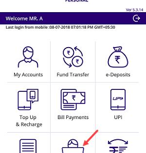 Find SBI CIF number via SBI anywhere app
