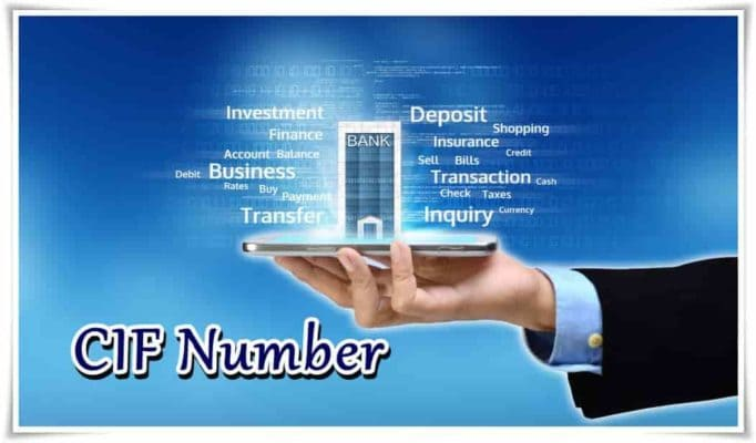 Indian Net banking CIF Number