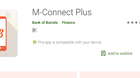 Install Bank of Baroda M-Connect Plus on Android
