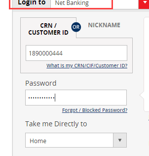 Kotak Mahindra net banking login