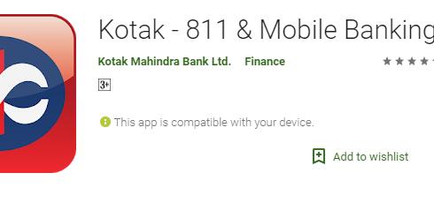 Kotak Mobile banking app download