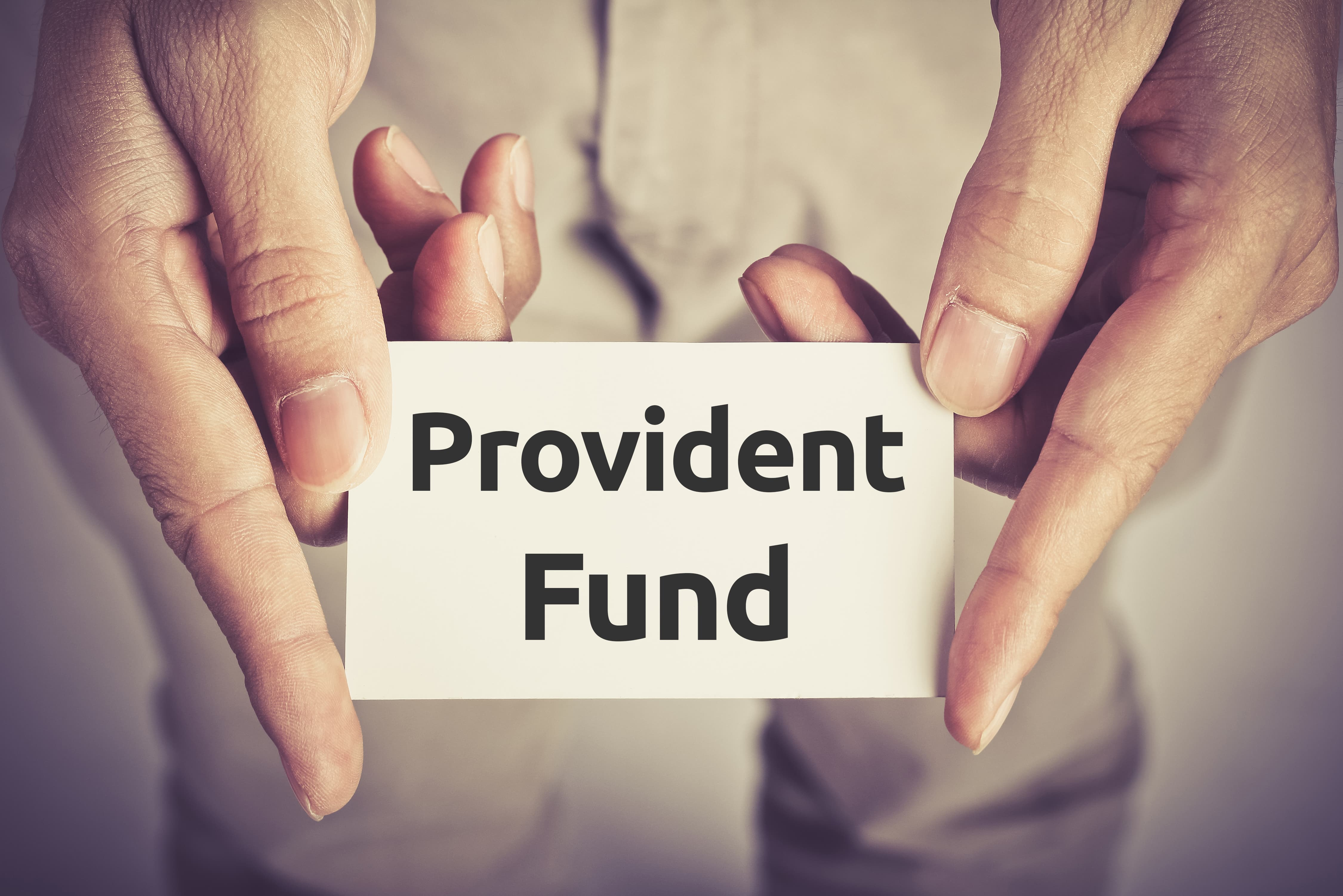 What is the Provident Fund and How is it calculated?