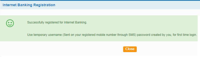 Register SBI Net banking online