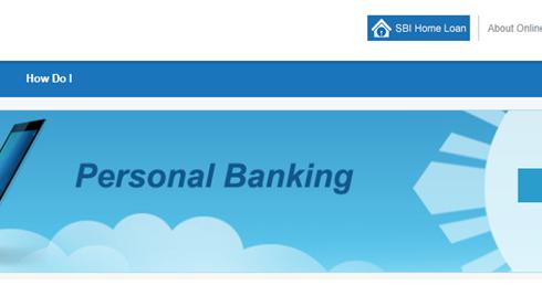 SBI online banking login