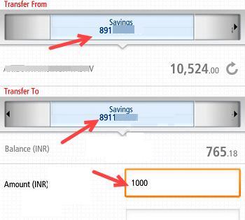 Transfer money to Kotak 811 savings bank