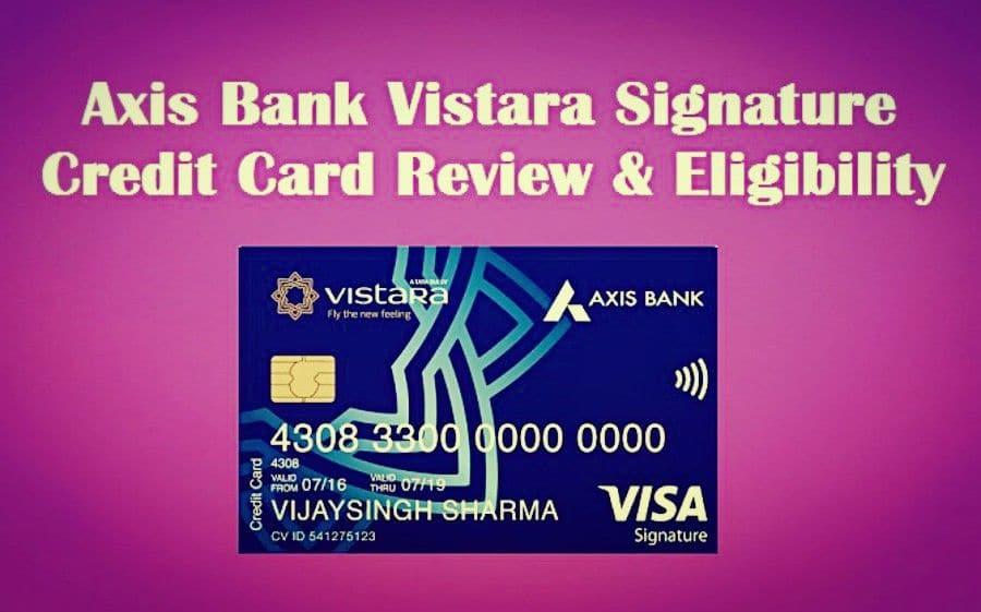 Axis Bank Vistara Credit Card