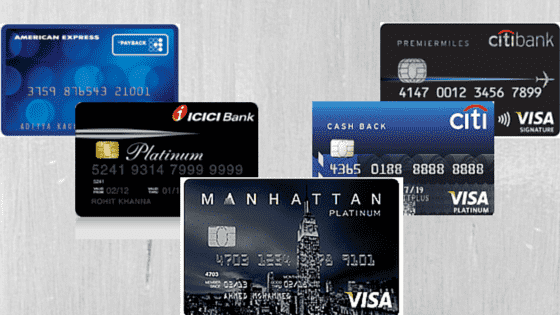 Top 17 Best Credit Cards in India 2018 to Apply Online