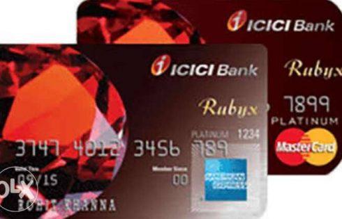 ICICI Rubyx Credit Card