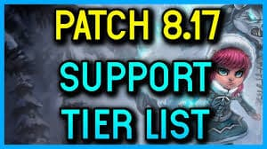 Patch 8.17 Tier list