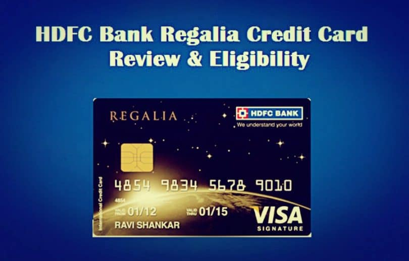 Regalia HDFC credit card