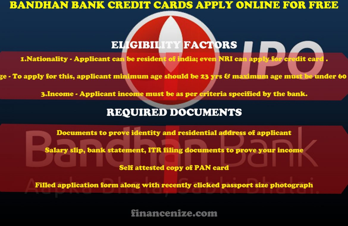 bandhan bank credit card charges