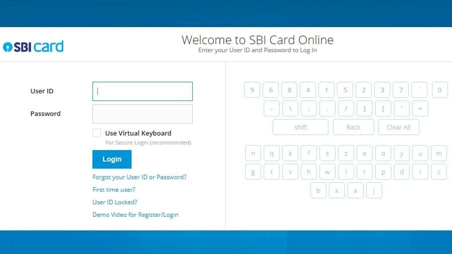 Pay SBI CC BILL
