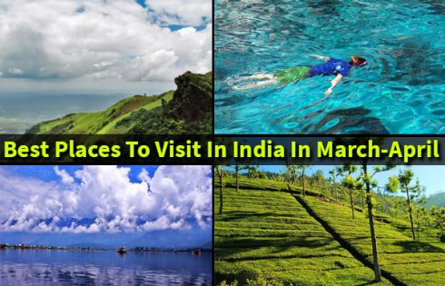 Places in India to Travel in March
